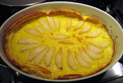 ovenpancake-pear