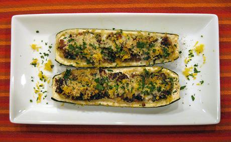 zucchini-stuffed-plated