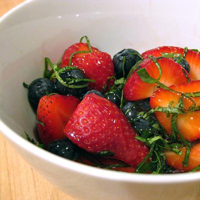 strawberries-basil-honey